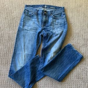 7 for all mankind 100% cotton jeans